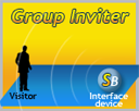 Group Inviter service